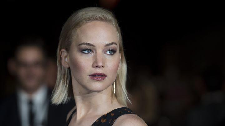 Intime Fotos von Jennifer Lawrence und vielen anderen Stars tauchten im Internet auf.