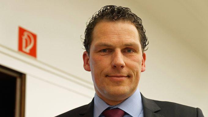 Jan Timke ist Bundespolizist und Mitglied der rechten Wählervereinigung Bürger in Wut.