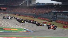 Die Formel 1 wird auch in der kommenden Saison - wie hier am 22. Juli - auf dem Hockenheimring gastieren.