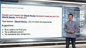 n-tv Netzreporter: Google erheitert mit Spielen und Chuck-Norris-Witzen