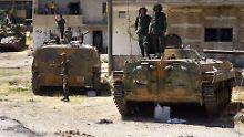 Erste Luftangriffe gemeldet: Offensive auf Idlib könnte kurz bevorstehen