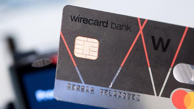 Wirecard - hier eine Karte der Banktochter - setzt auf das bargeldlose bezahlen.