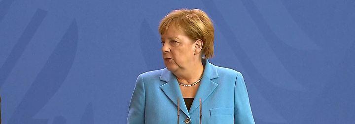 """""""Kein Mob, keine Hetzjagd, kein Pogrom"""": Merkel widerspricht Kretschmers Chemnitz-Erklärung"""