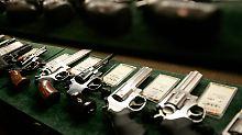 Rund 250 Millionen Kleinwaffen sind in den USA im Umlauf