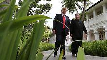 Präsident dankt ihm bei Twitter: Kim will noch in Trumps Amtszeit abrüsten