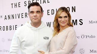 Promi-News des Tages: Robbie Williams lüftet Baby-Geheimnis