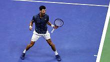 """Einzug ins US-Open-Finale: Djokovic: """"Habe richtig, richtig gut gespielt"""""""