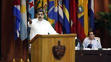 Geheimtreffen mit Rebellen: US-Beamte erörterten Maduro-Attentat