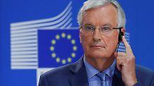 Lösung in acht Wochen?: Barnier glaubt an baldige Brexit-Einigung