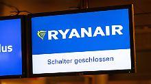 24-Stunden-Streik am Mittwoch: Deutsche Ryanair-Piloten bleiben am Boden