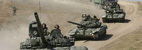 Wie zu besten Sowjet-Zeiten: Russland startet Rekord-Militärmanöver