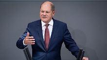 "Familie, Wohnraum, Fortschritt: Scholz nimmt ""ehrgeizige"" Ziele in Angriff"