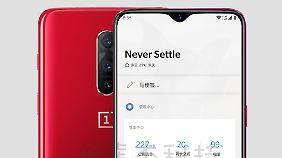 Das Bild des Online-Shops ist vermutlich nur ein Platzhalter, so ähnlich könnte das OnePlus 6T aber aussehen.