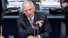 Nach Ausschreitungen in Chemnitz: Schäuble warnt vor Spaltung der Gesellschaft