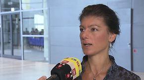 """Wagenknecht zu Syrien: """"Giftgaseinsatz wird geradezu herbeigeredet"""""""
