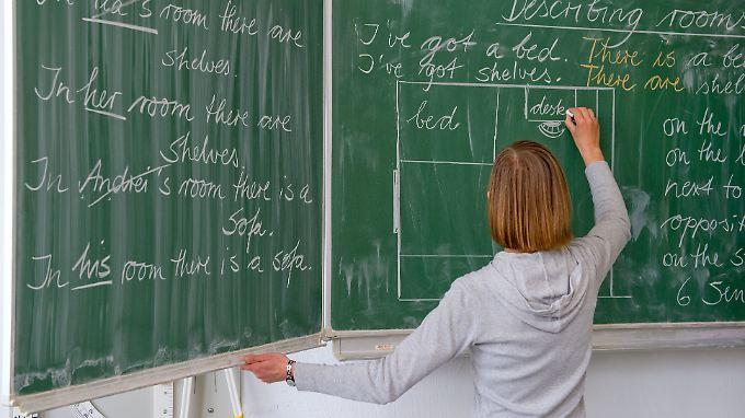 Katrin Fuchs (nicht im Bild) entscheidet sich 2016 für den Quereinstieg in den Lehrerberuf.