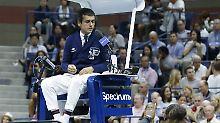 Der Sport-Tag: Tennis-Schiedsrichter äußert sich erstmals zu Williams-Eklat