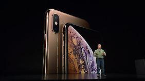 Das sind die neuen iPhones.