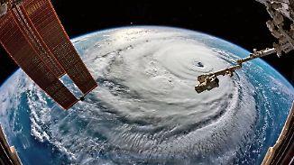 """Fünf Millionen Amerikaner fliehen: Gerst zeigt """"Alptraum""""-Hurrikan aus dem All"""