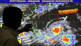 Zehn Millionen Menschen in Gefahr: Gigantischer Taifun bedroht Philippinen
