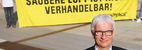 Neue Fahrverbote im Herbst: Umwelthilfe sieht Totalversagen von Merkel