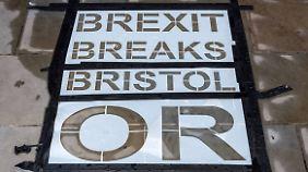 Bricht der Brexit Bristol oder bricht Bristol den Brexit? Khan möchte die Briten darüber neu entscheiden lassen.
