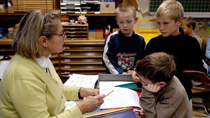Vor allem auch in Grundschulen fehlen die Pädagogen.