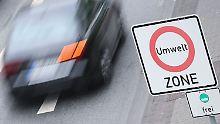 Schätzung im Ministerium: Fahrverbote treffen 1,3 Millionen Diesel
