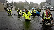 """USA beklagen steigende Opferzahl: """"Florence"""" drückt Wasser tief ins Land"""