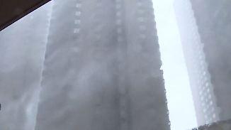 """Taifun über Südchina: """"Mangkhut"""" bringt Wolkenkratzer ins Wanken"""