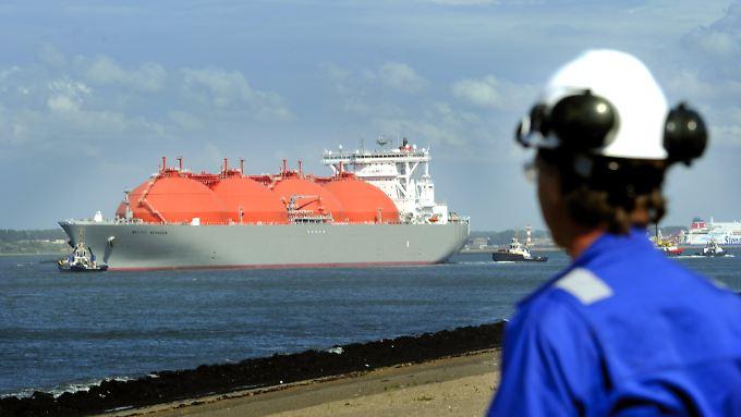 Noch können die Flüssigerdgas-Tanker aus den USA oder Katar nicht in Deutschland anlegen.