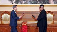Abbau von Atomanlage: Kim will Waffeninspekteure ins Land lassen