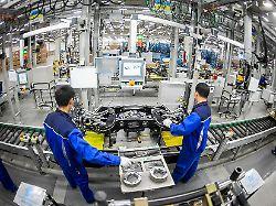 Trump, Türkei und der Brexit: Industrie zehrt vom Auftragspolster