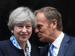 Tauziehen um Brexit: EU und London halten an Positionen fest
