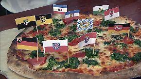Einsame Spitze, Experimente im Norden: Diese Pizzen verspeisen die Deutschen am liebsten