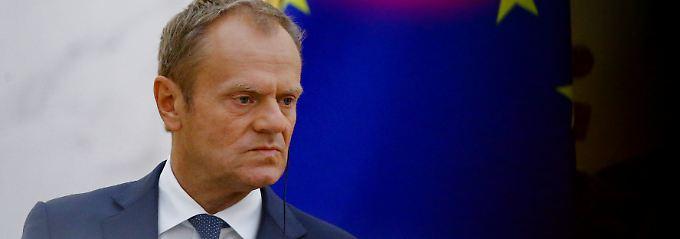 """Tusk erteilt Briten Absage: Mays Brexit-Plan """"wird nicht funktionieren"""""""