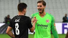Sieg trotz Unterzahl: Eintracht gibt fulminantes Europa-Comeback