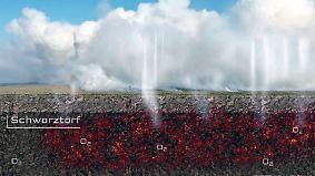 Ermittlungen bei Bundeswehr eingeleitet: Moor brennt nach Raketentest unterirdisch