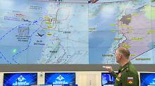 Flugzeug-Abschuss in Syrien: Russland gibt erneut Israel die Schuld