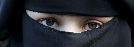 """Hidschab, Tschador, Nikab oder Burka? Der Begriff """"Burka-Verbot"""" ist nicht ganz präzise."""