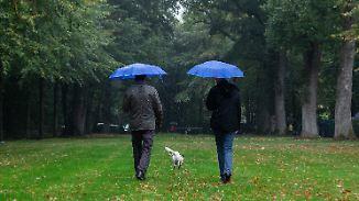 Stürmische Nacht: Herbstwetter setzt sich fort