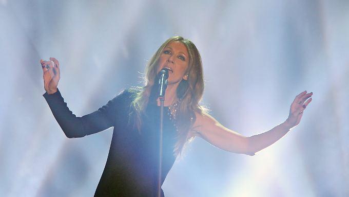 """2013 sang sie noch in Halle bei """"Wetten dass"""". Nun kehrt Celine Dion auch Las Vegas den Rücken."""