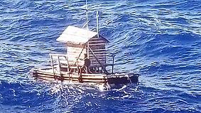 Alleine auf dem Pazifik: Jugendlicher überlebt 49 Tage auf abgetriebenem Floß
