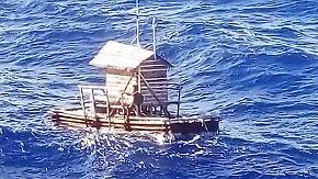 Alleine auf dem Pazifik: Jugendlicher überlebt monatelang auf abgetriebenem Floß
