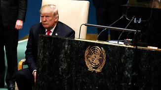 US-iranischer Atomstreit: Trump und Rohani liefern sich Schlagabtausch