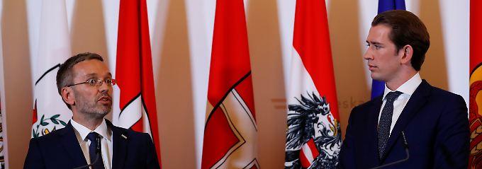 Wunderwuzzis Problem-Minister: Kickl bringt Kurz in die Bredouille