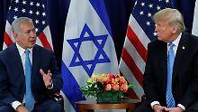 Zwei-Staaten-Lösung befürwortet: Trump kündigt Nahost-Friedensplan an
