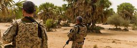 Bundeswehrsoldaten in Mali.