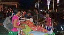 """""""Betet für mich"""": Tsunami reißt Menschen in Palu in den Tod"""