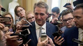 Schwere Vorwürfe gegen Kavanaugh: Entscheidender Republikaner fordert FBI-Ermittlung